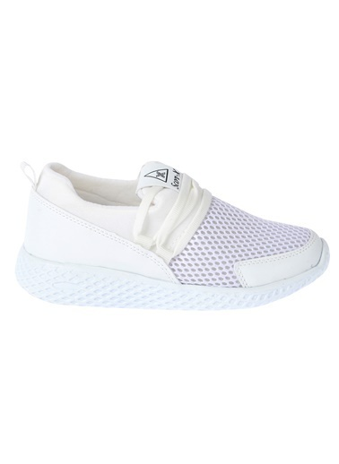 Kiko Kids Kiko Scor-x 106 Günlük Fileli Kız/Erkek Çocuk Spor Ayakkabı Beyaz